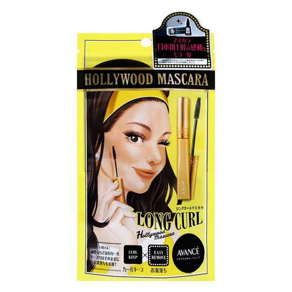 Picture of AVANCE Hollywood Mascara #Long Curl 6ml