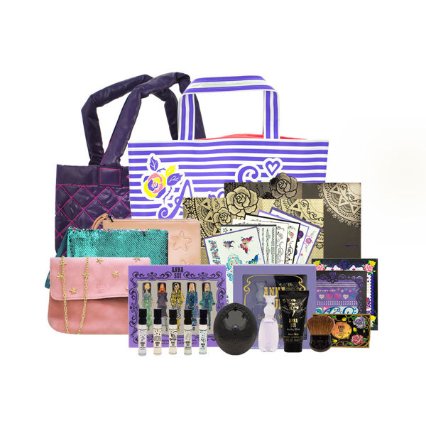 Picture of Anna Sui   Limited Edition Set 01 (Tatoo Sticker+Perfume set +Tote Bag +Blush & Case)
