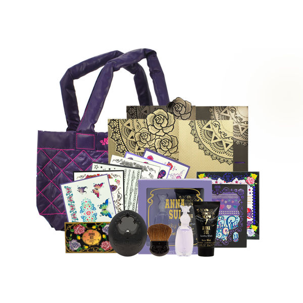 Picture of Anna Sui  Limited Edition Set 02 (Tatoo Sticker+Perfume set +Tote Bag +Blush & Case)