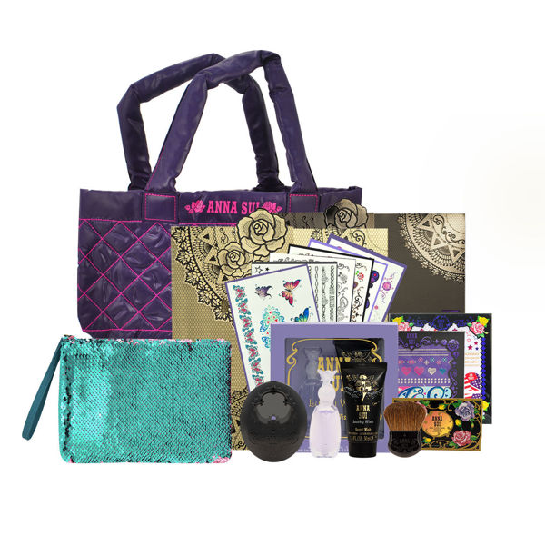 Picture of Anna Sui Limited Edition Set 05 (Tatoo Sticker+Perfume set +Tote Bag +Blush & Case)