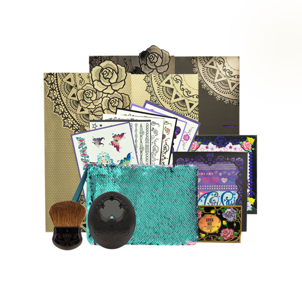 Picture of Anna Sui Limited Edition Set 07  (Tatoo Sticker +Anna Sui Package+Tote Bag )