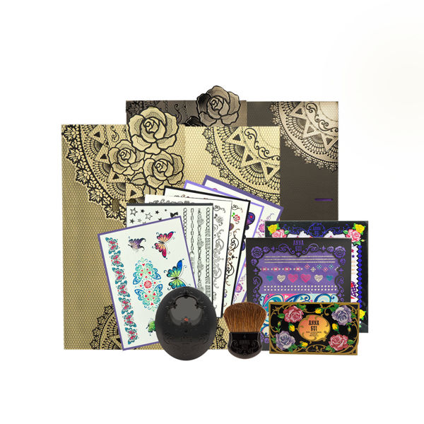 Picture of Anna Sui Limited Edition Set  09 (Tatoo Sticker+ Anna Sui Package +Blush & Case )